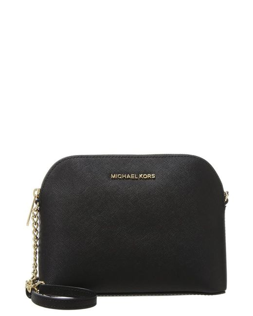 MICHAEL Michael Kors | Black Cindy Across Body Bag | Lyst