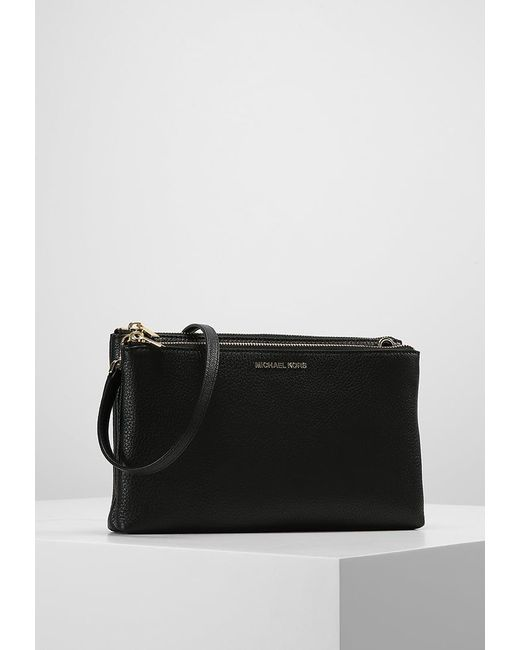 72aa7a20de4bef michael michael kors black across body bag lyst .