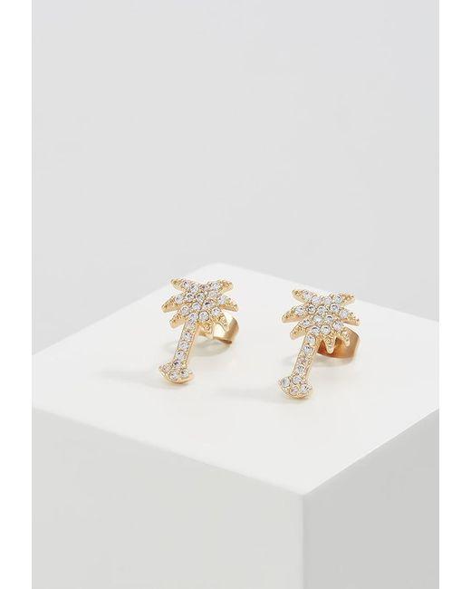 Pieces | Metallic Pckobye Earrings | Lyst