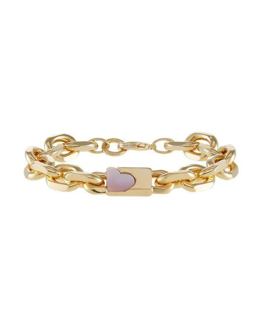 Sabrina Dehoff | Pink Anchor Love Bracelet | Lyst