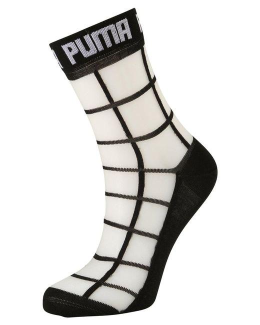 PUMA | Black Square Socks for Men | Lyst