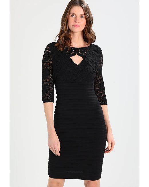 Wallis | Black Bolero Shutter Shift Dress | Lyst
