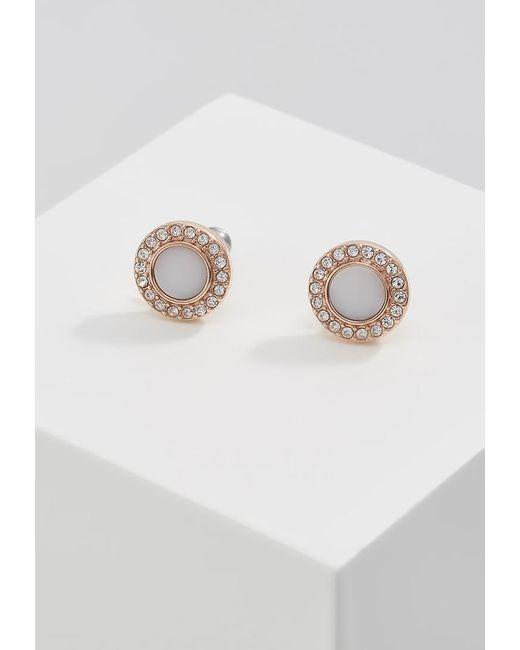 Fossil | Metallic Classics Earrings | Lyst