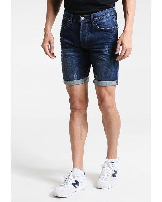 Blend | Blue Twister Denim Shorts for Men | Lyst