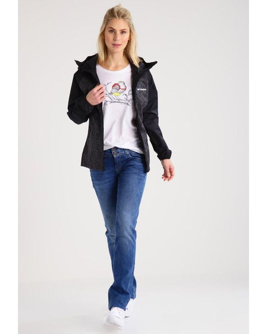 Lyst - Columbia Ulica Hardshell Jacket in Black 7339a992a8