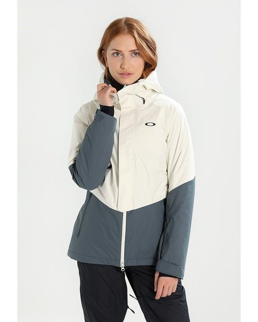 Oakley | White Showcase Snowboard Jacket | Lyst