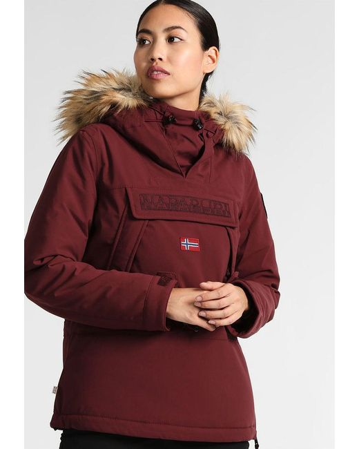 Napapijri | Red Skidoo Ski Jacket | Lyst