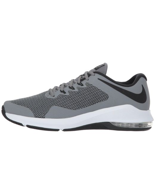 ... Nike - Gray Air Max Alpha Trainer (black white) Men s Cross Training  Shoes ... 1d7dd2462