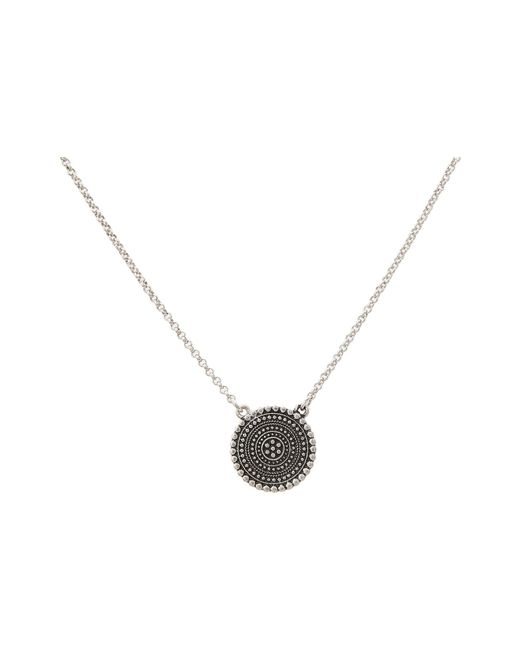 Lucky Brand - Metallic Indigo Trail Pendant Necklace - Lyst