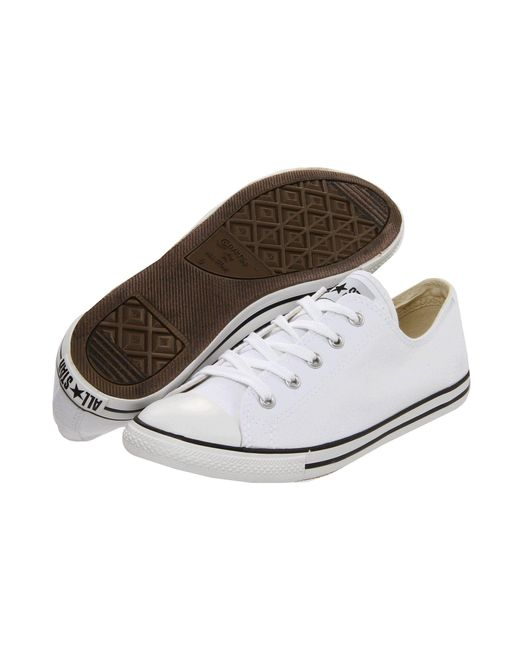Converse - White Chuck Taylor® All Star® Dainty Ox - Lyst