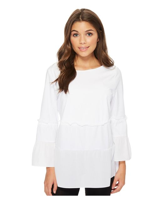 Lyssé - White Waverly Blouse - Lyst