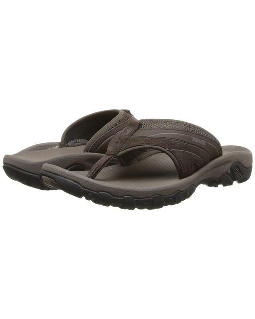1fa5a058319e Lyst - Teva Pajaro (brown) Men s Toe Open Shoes in Brown for Men