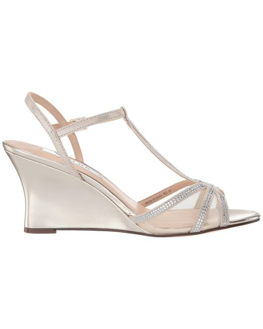 f86b563863a5 Lyst - Nina Viveca (platino champagne) Women s Shoes in Metallic