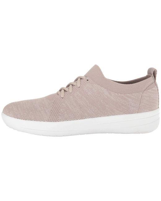5e3ba7de4 ... Fitflop - Multicolor F-sporty Uberknit Sneakers (dark Taupe Mix) Women s  Lace Up ...