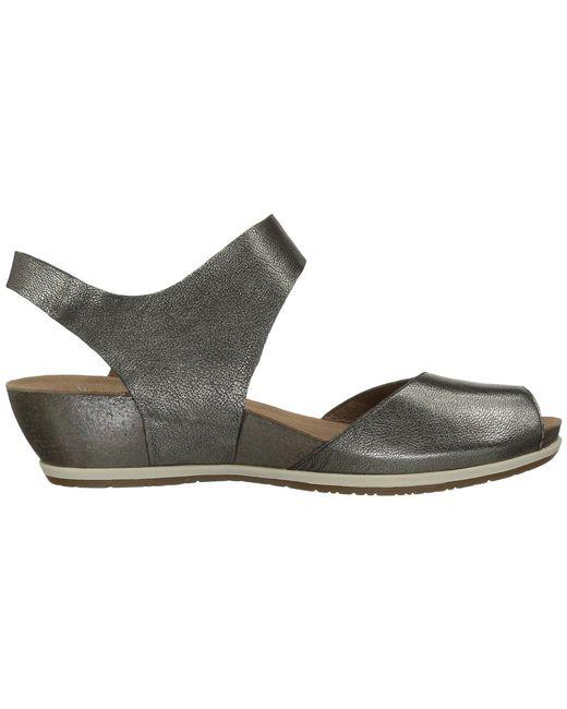 4489fdc7c5ec ... Dansko - Multicolor Vera (black Burnished) Women s Shoes ...