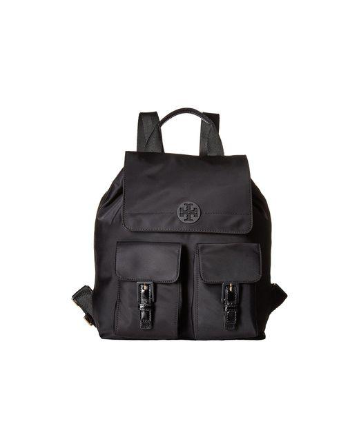 Tory Burch | Black Quinn Backpack | Lyst