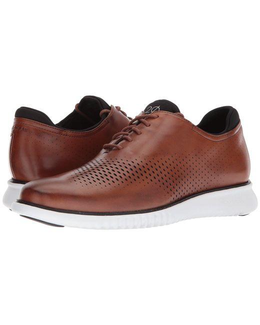 Cole Haan - Brown 2.zerogrand Lsr Wing (bourbon Nubuck/cobblestone) Men's Shoes for Men - Lyst