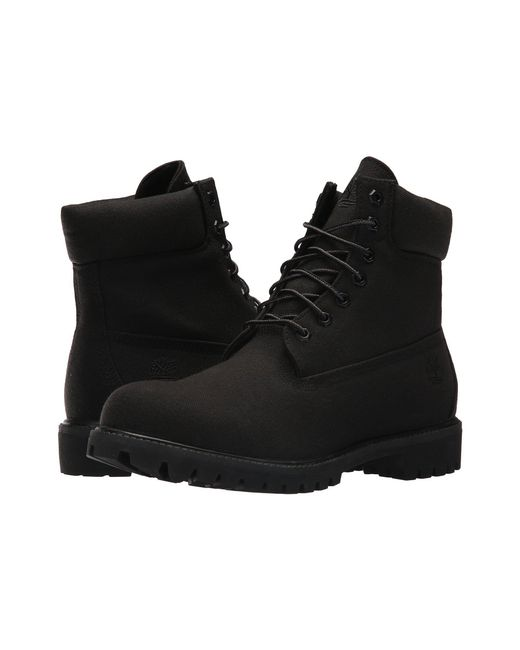 Timberland - 6 Premium Fabric Boot (jet Black) Men's Lace-up Boots for Men - Lyst