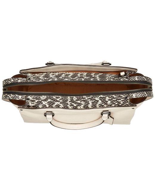 12d574b237f9 ... COACH - Multicolor Drew Satchel (blossom silver) Satchel Handbags -  Lyst ...