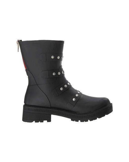 2ccb3fa4946 Lyst - Steve Madden Thunder Rain Boot (black) Women s Boots in Black ...