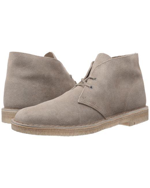 Clarks | Gray Desert Boot for Men | Lyst