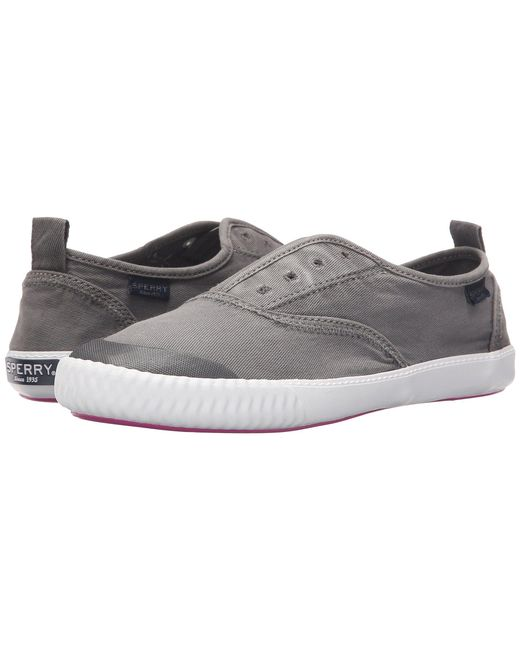 Sperry Top-Sider - White Sayel Clew Ox Washed (grey) Women's Lace Up Casual Shoes - Lyst