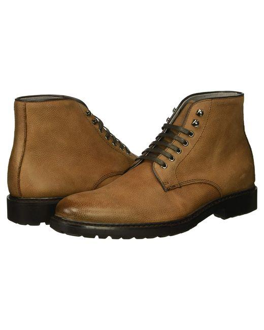 Gordon Rush - Brown Brett Pebbled Boot for Men - Lyst