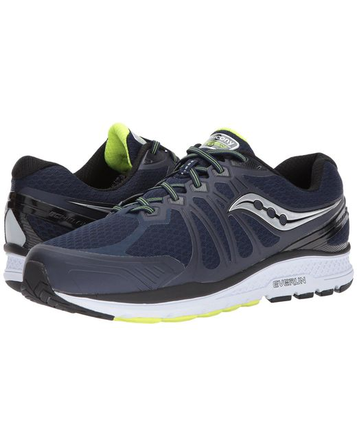 f7bf6c4fb7f6 Lyst - Saucony Echelon 6 (navy citron) Men s Running Shoes in Blue ...