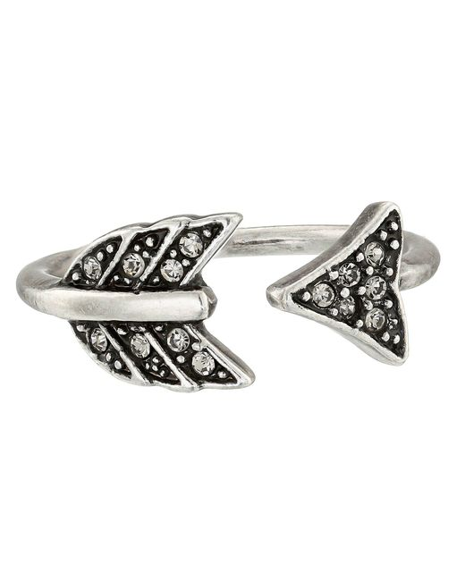 House of Harlow 1960 - Metallic Arrow Affair Ring - Lyst