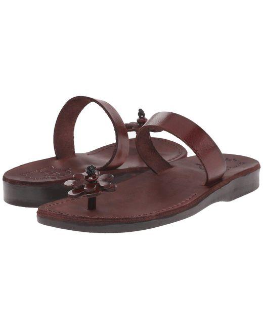 Jerusalem Sandals - Esther - Womens (brown) Women's Shoes - Lyst