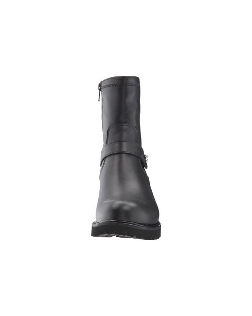 Lyst La Canadienne Caily Black Leather Women S Boots