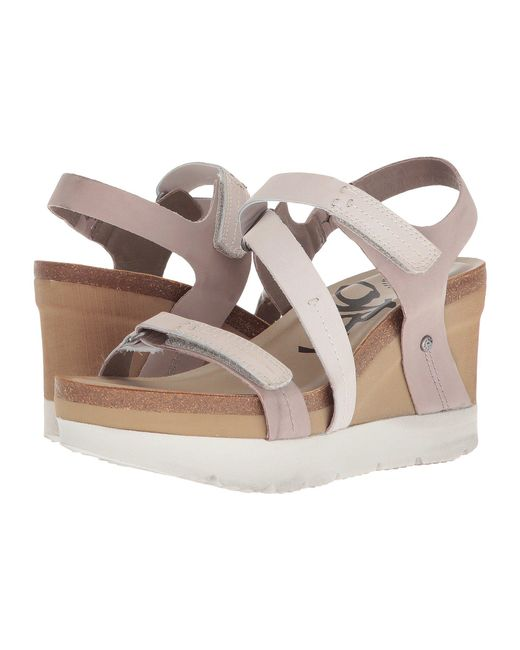 Otbt - Multicolor Wavey (cacao) Women's Wedge Shoes - Lyst
