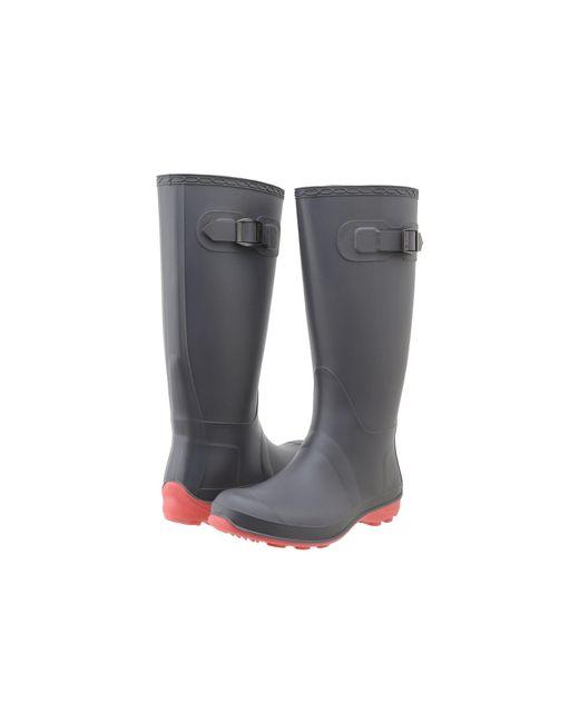 da1699c0adb Lyst - Kamik Olivia (black) Women s Rain Boots in Gray - Save 50%