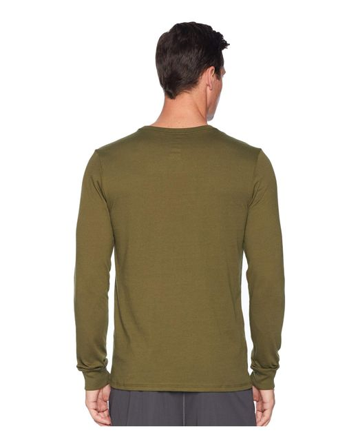 f4dbd18424b ... Nike - Green Dry Training Long Sleeve T-shirt (black anthracite heather  ...