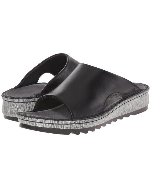 Naot - Ardisia (black Madras Leather) Women's Sandals - Lyst