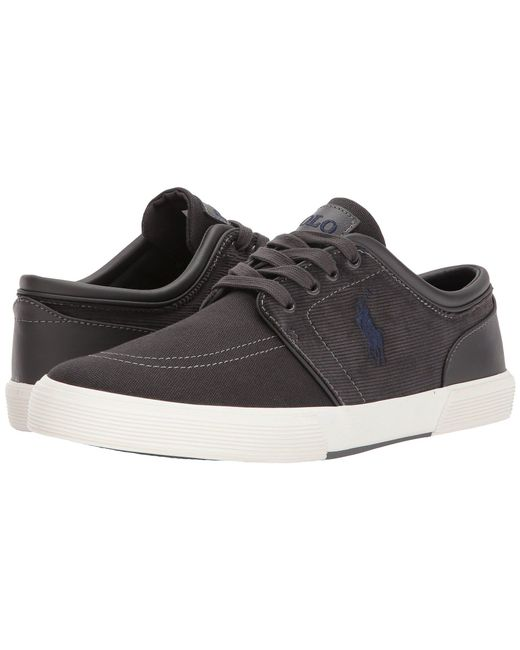 Polo Ralph Lauren - Gray Faxon Low (green Canvas/corduroy) Men's Shoes for Men - Lyst