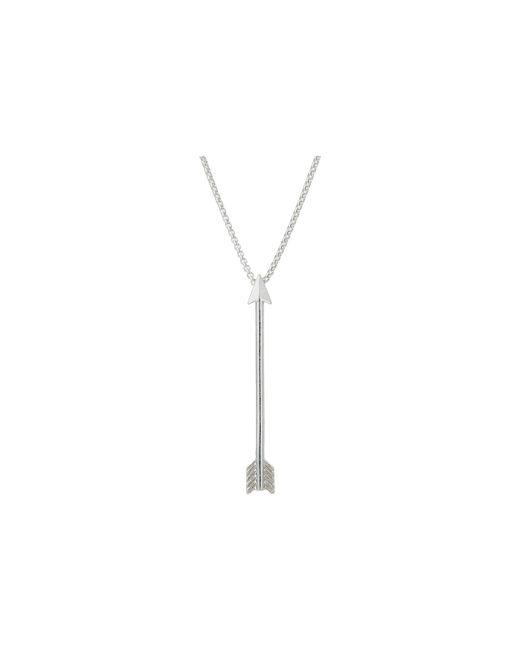 "ALEX AND ANI | Metallic 18"" Arrow Necklace | Lyst"