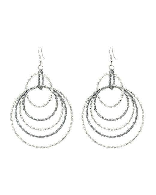 Guess - Multicolor Anyone's Multi Linked Hoop Earrings - Lyst