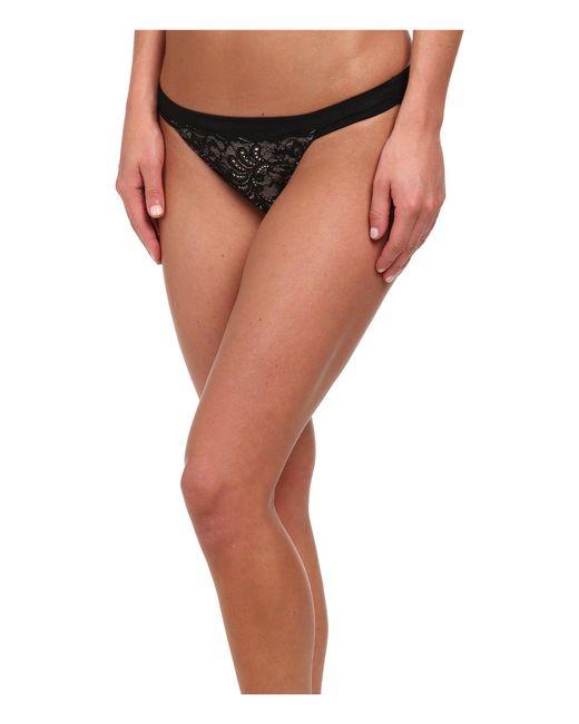 Le Mystere - Black Sophia Lace String Bikini 735 - Lyst