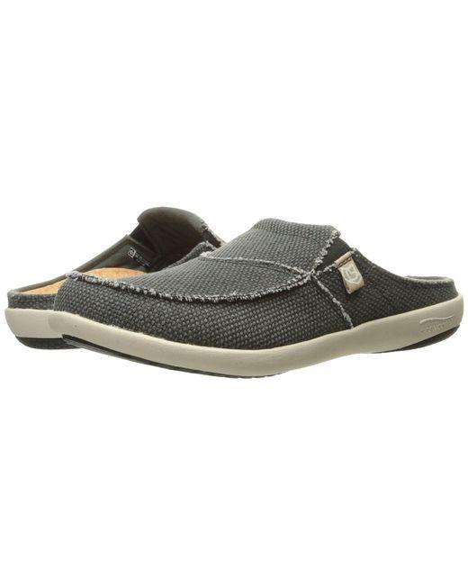 Spenco - Gray Siesta Slide (java) Men's Clog Shoes for Men - Lyst