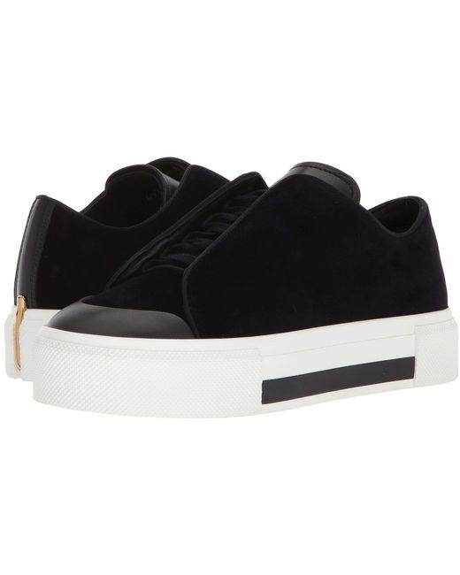 Alexander McQueen - Black Low Cut Lace-up Sneaker - Lyst
