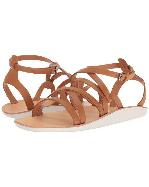 Olukai - Brown Po'iu (black/black) Women's Sandals - Lyst