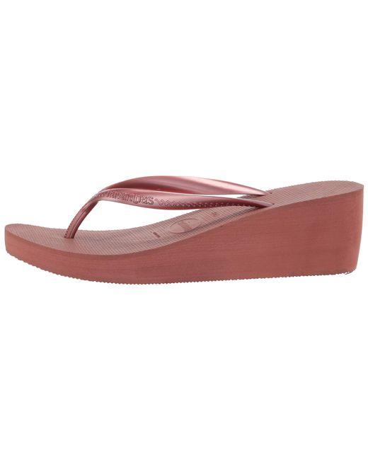 1aecfe60441d ... Havaianas - Multicolor High Fashion Flip Flops (black) Women s Sandals  ...