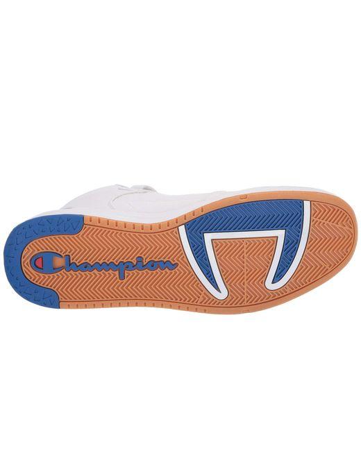 fb04cb3a52c ... Champion - White Super C Court Mid Cvs (red) Men s Classic Shoes for  Men ...