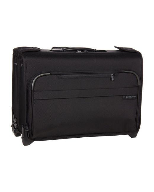 Briggs & Riley - Black Baseline Carry-on Wheeled Garment Bag 2 - Lyst