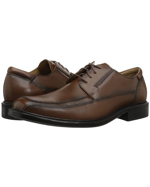 Dockers - Brown Perspective Moc Toe Oxford (black) Men's Lace Up Moc Toe Shoes for Men - Lyst