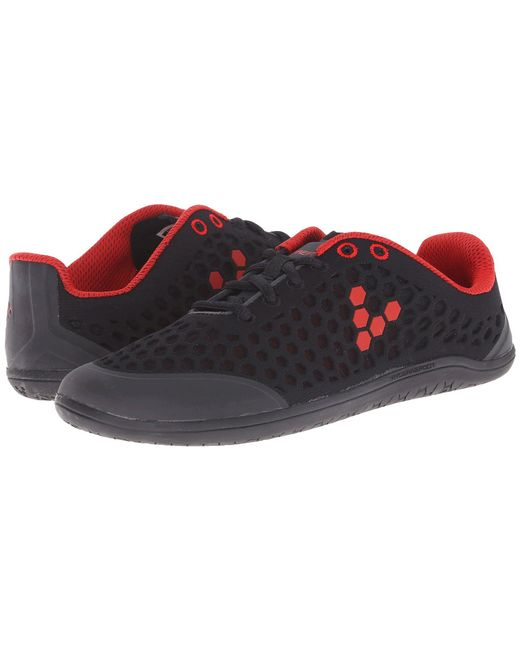 Vivobarefoot - Stealth Ii (black/red) Women's Shoes - Lyst