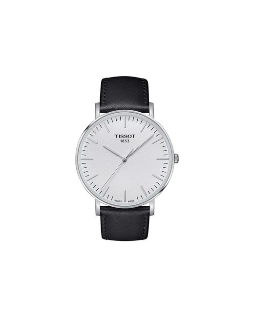Tissot - Metallic Everytime Large - T1096101603100 (silver/black) Watches for Men - Lyst