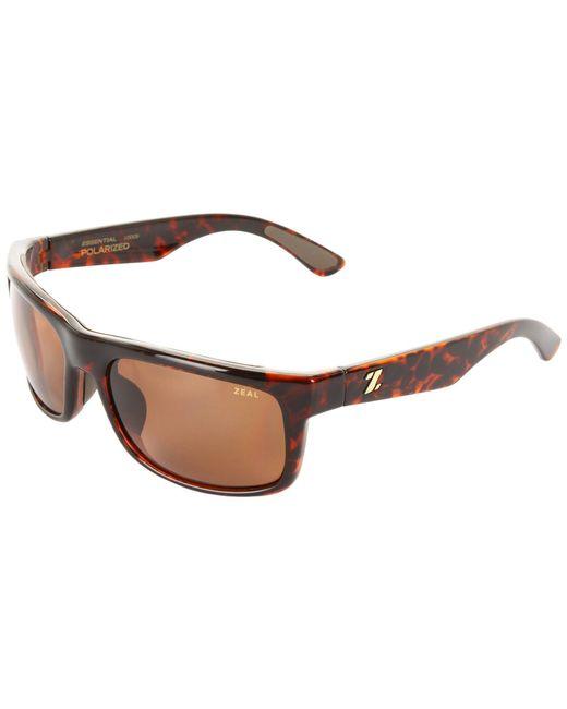 Zeal Optics - Metallic Essential Polarized (demi Tortoise W / Copper Polarized Lens) Sport Sunglasses - Lyst