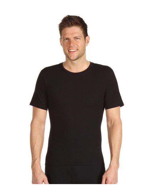 Spanx - Cotton Compression Crew (black) Men's Underwear for Men - Lyst